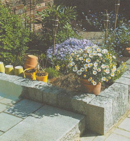 Лестница с цветочным раем